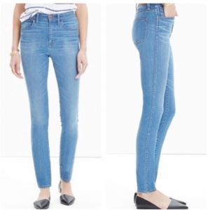 "Madewell 10"" High-Riser Skinny Skinny Jeans 26TL"
